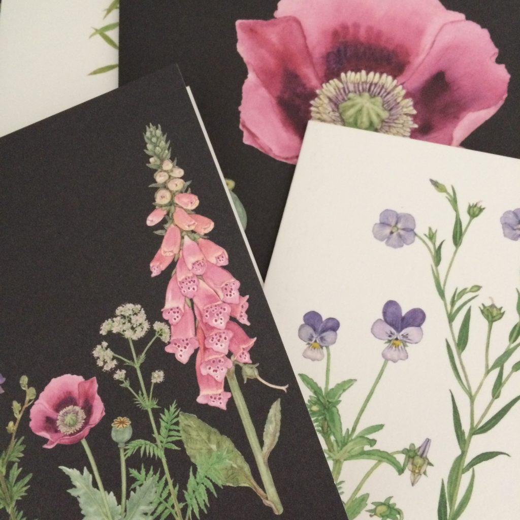 blomsteerkort